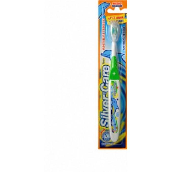 Periuta de dinti pentru copii Silver Care Antibacteriana Teen 7 - 12 ani Art. 4334
