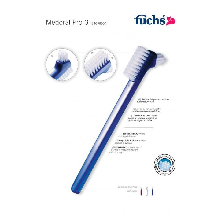 Periuta FUCHS pentru ingrijire proteza dentara